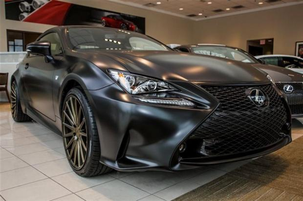 PICS New RC F Sport Stock Or Aftermarket From Dealer