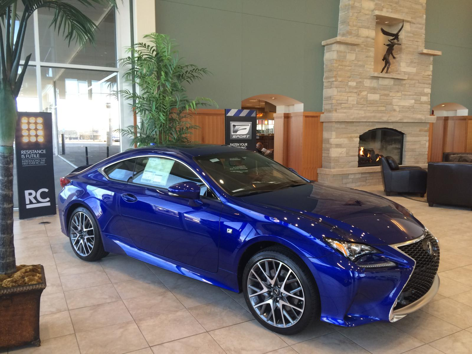 First rc350 f sport on the road in denver lexus rc350 rcf forum