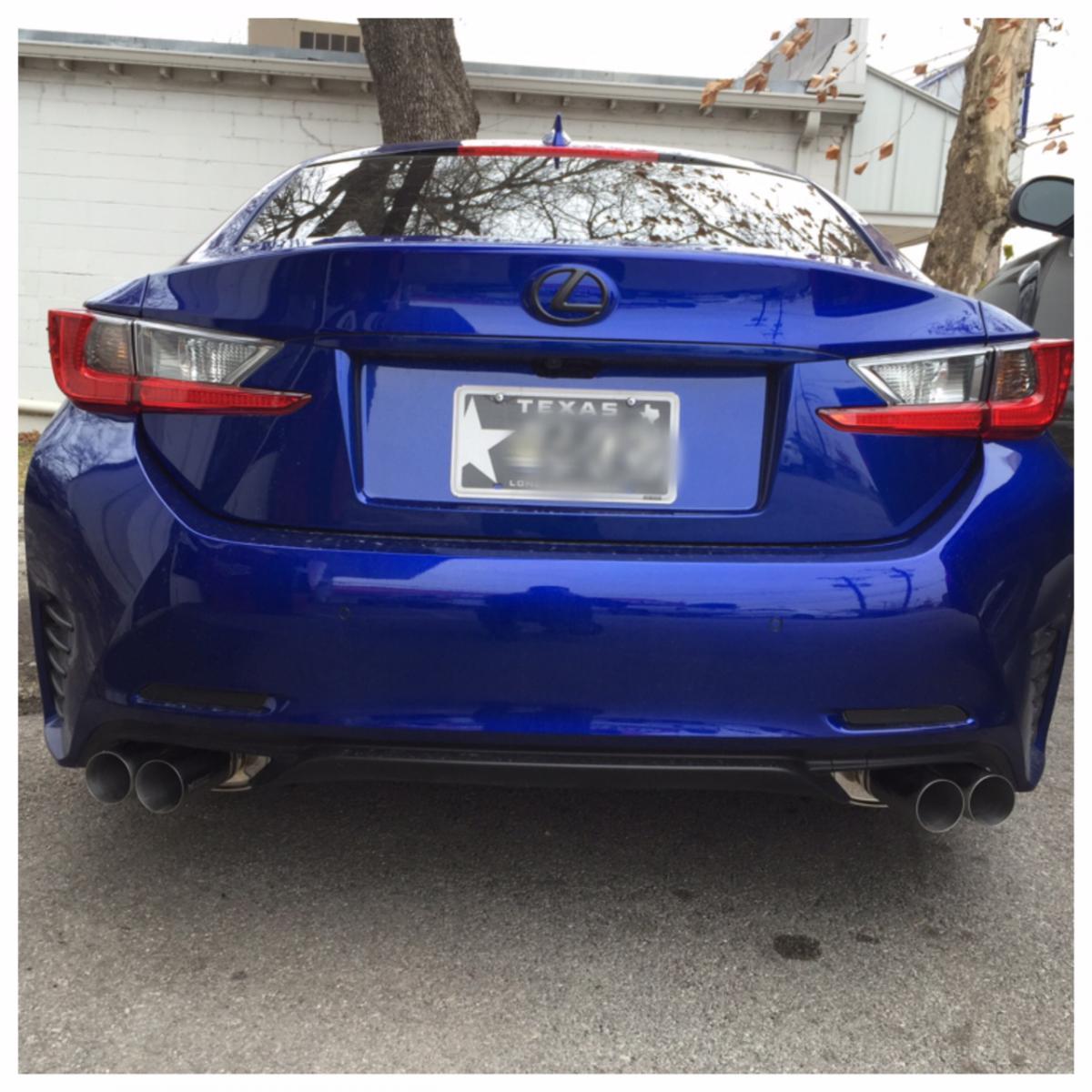Lexus Rc 350 F Sport Price: My Ultrasonic Blue RC350 F-Sport