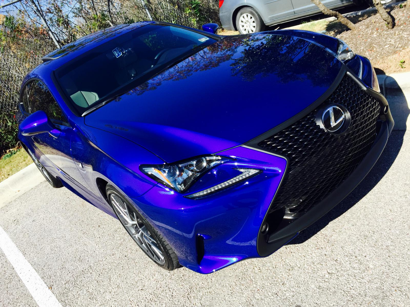 New Rc350 F Sport From Texas Ultra Sonic Lexus Rc350
