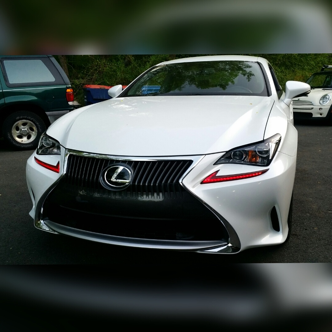 "Lexus Rcf 2015 Price: Did My First ""mod"" Today"