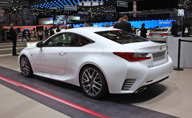 the 2015 lexus rc 350 f sport at the geneva motor show lexus rc350 rcf forum. Black Bedroom Furniture Sets. Home Design Ideas