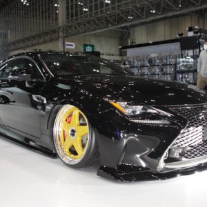 2015 Lexus RC modifications, tien, GW, Apex, GReddy