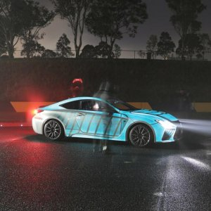 Lexus Glowing Paint